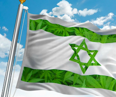 Israël, lance la vente de cannabis en ligne