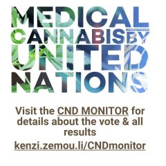 UN recognizes medical cannabis, history made!