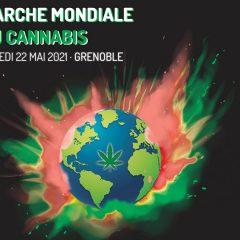 Où se déroule la Marche Mondiale pour le cannabis en 2021 ?