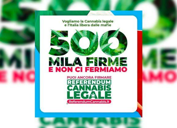 Le référendum italien pour la dépénalisation atteint l'objectif de 500 000 signatures en une semaine